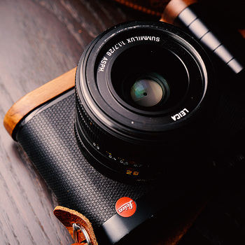 Original Wooden Quick Release L Plate / L Bracket Hand Grip Holder Perfect  Fit For Leica Q Series