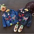 Fashion Jeans Jacket Girls Kids Spring 2017 Baby Denim Jackets Girl Outerwear Children Clothes Toddler Outfit Tops Tassel