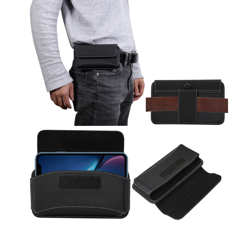 Belt Clip Leather Case for Huawei mate 20X/honor 8X Max/note10/note8 Universal Phone Pouch 6.4-6.9 inch Oxford Cloth Waist BagBelt Clip Leather Case for Huawei mate 20X/honor 8X Max/note10/note8 Universal Phone Pouch 6.4-6.9 inch Oxford Cloth Waist Bag