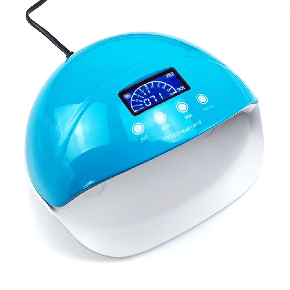 New Arrival SUN5se Nail Lamp 50W UV LED Nail Lamp 28 LEDs Nail Dryer for All Gels With 30s/60s/90s Button Perfect Thumb Solution