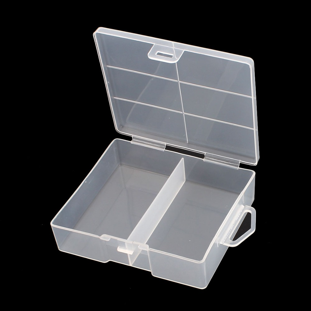 High Quality Hard Plastic Case Holder Storage Box 105 X 90 X 32mm Container For 24 X AA Battery Easy For Carrying