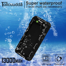 CNPOWER Original Tollcuudda 13000MAH Solar Power Bank Mobile Phone Charger Poverbank For Xiaomi Max2 LJJ629