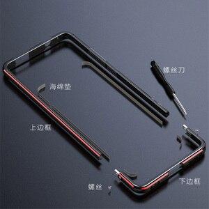 Image 3 - Voor Xiao mi rode Mi K20 pro CASE Metalen Frame Dubbele Kleur Alu Mi Num bumper bescherm Cover Voor Xiao mi rode Mi K20 mi 9 t pro case