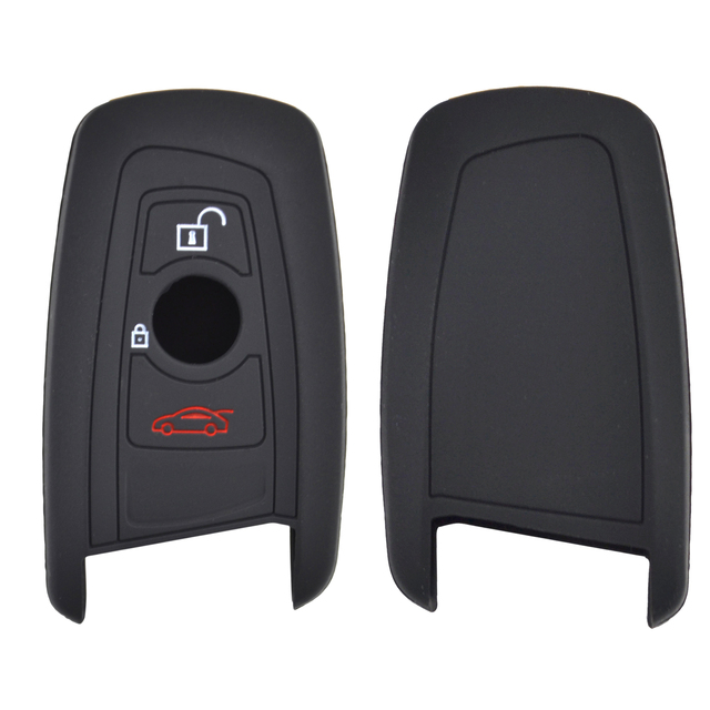 3 Button Silicone Car Remote Key Fob Shell Cover Case For BMW M1 M2 M3 F05 F10 F20 F30 335 328 535 650 740 Skin Holder Protector