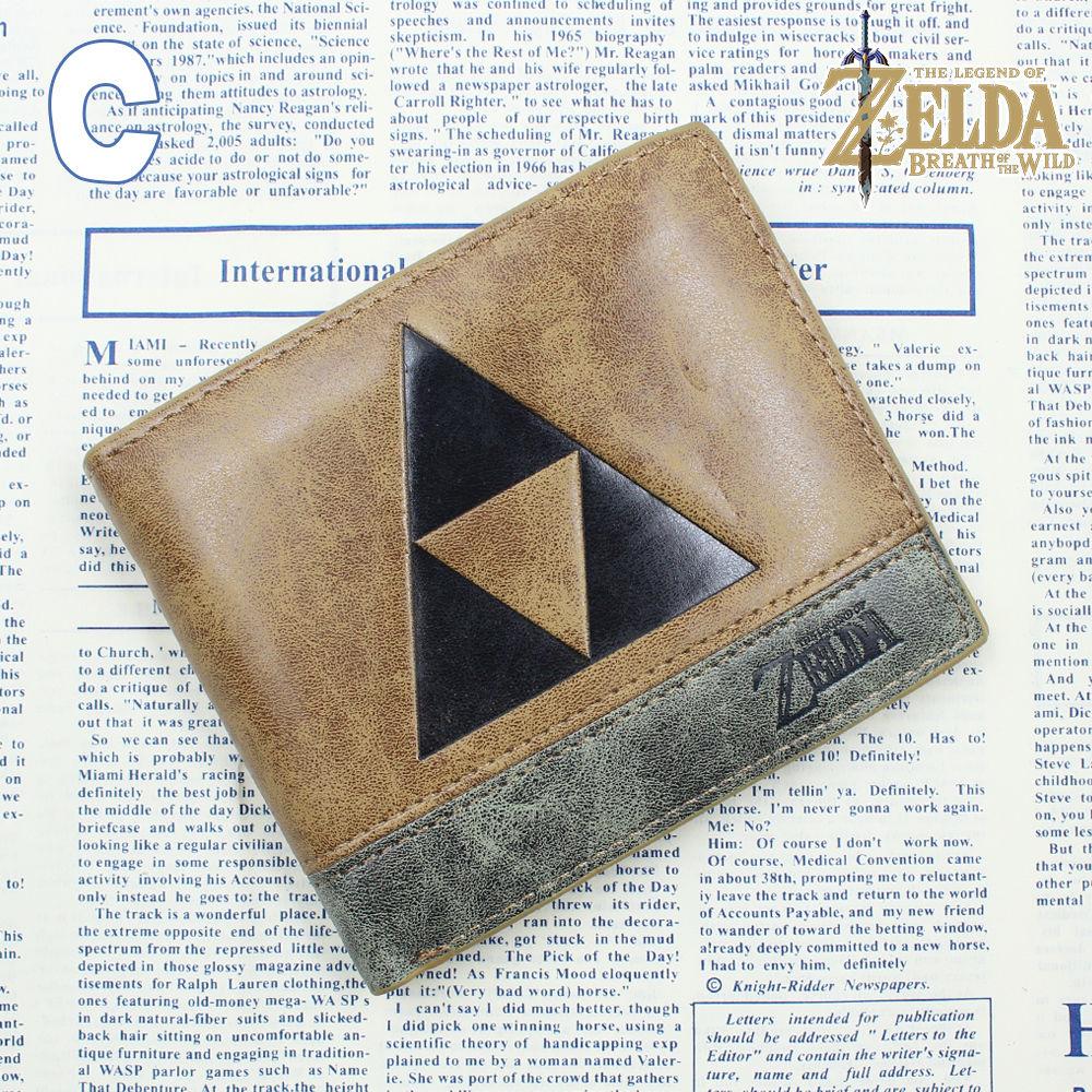 OHCOMICS Game The Legend of Zelda Link Wallet Purse Bag Handbag Cards Holder Notecase Layers Coin Costume Bag 1