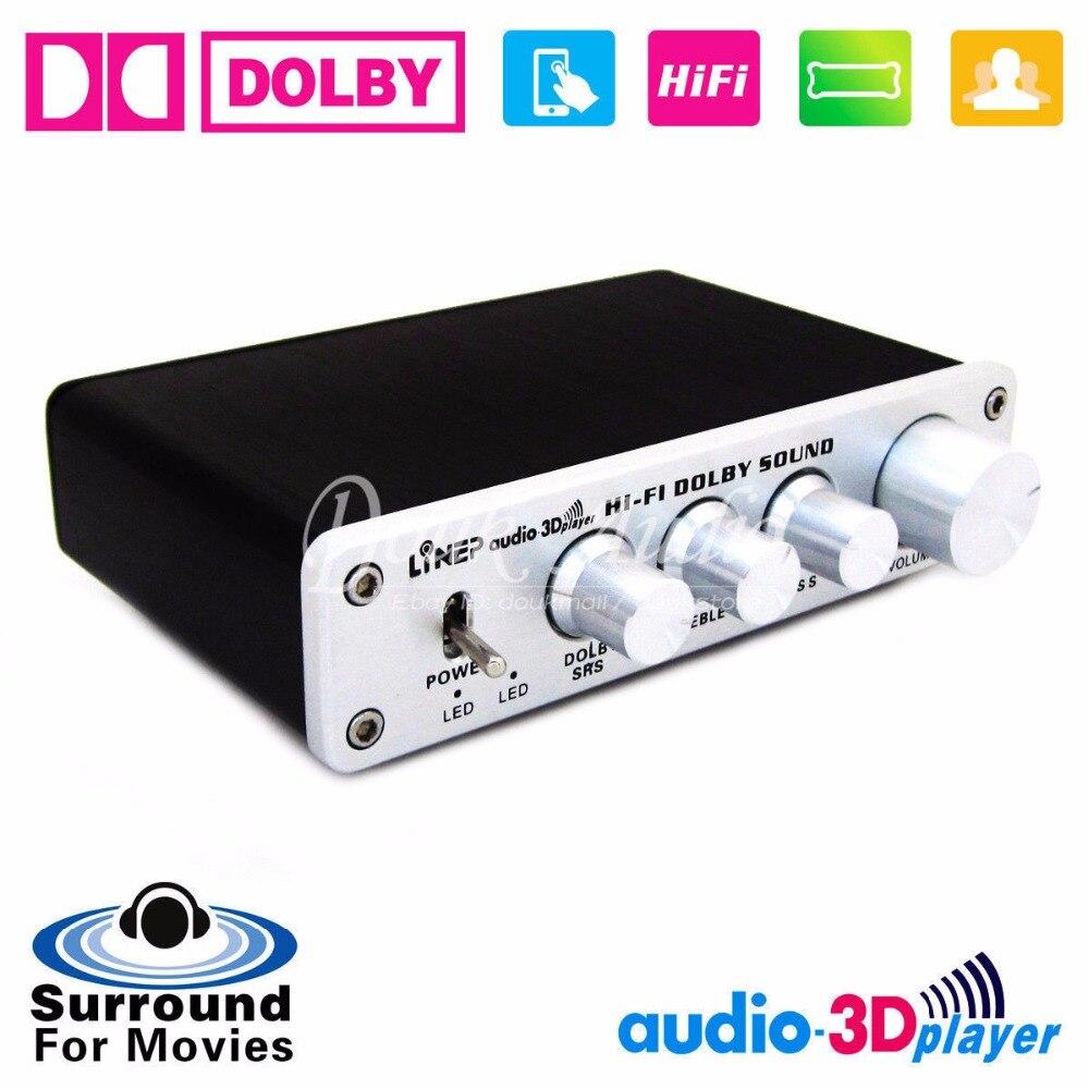 цена на Nobsound HiFi Dolby Surround Audio Processor USB DAC Preamp ASIO Sound Card Headphone amp