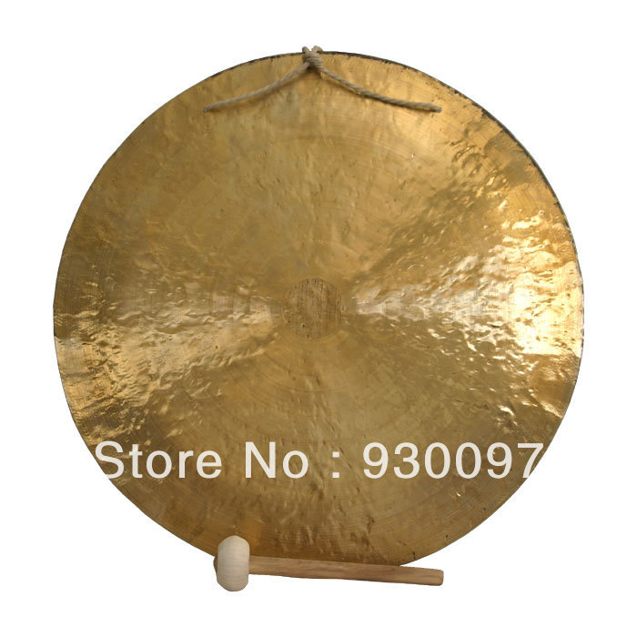 high quality brass gong !22''chinese traditional Wind  GONG купить