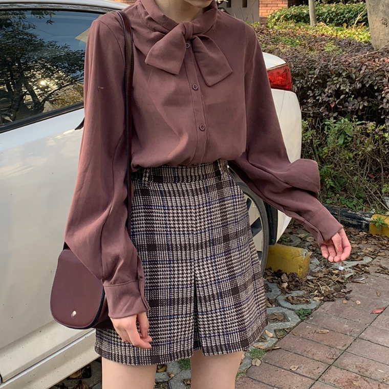 Cheap Wholesale 2019 New Spring Autumn Winter Hot Selling Women's Fashion Casual Ladies Casual Shirts A270