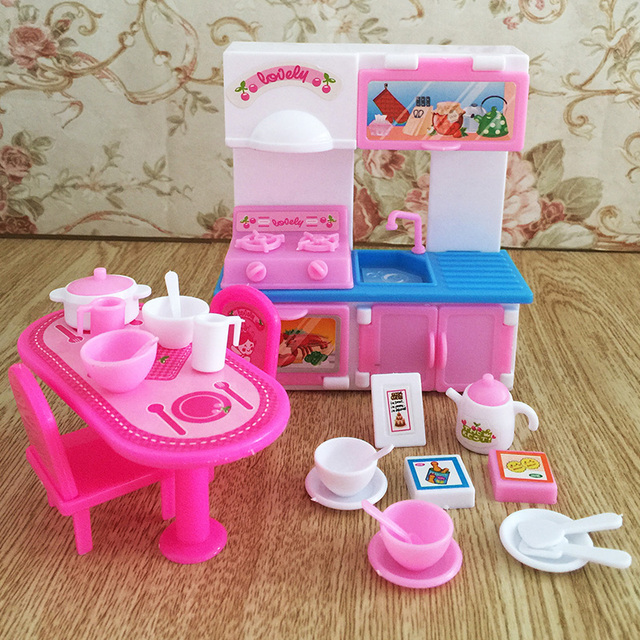 Children Kids Baby Girl S Cute Lovely Mini Toy Girl Play Toy Kitchen