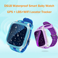 Femperna DS18 GPS Children Smart Watch GPS WiFi Locator Tracker Waterproof SOS Call Kids Smartwatch For IOS Android PK Q50 Q80