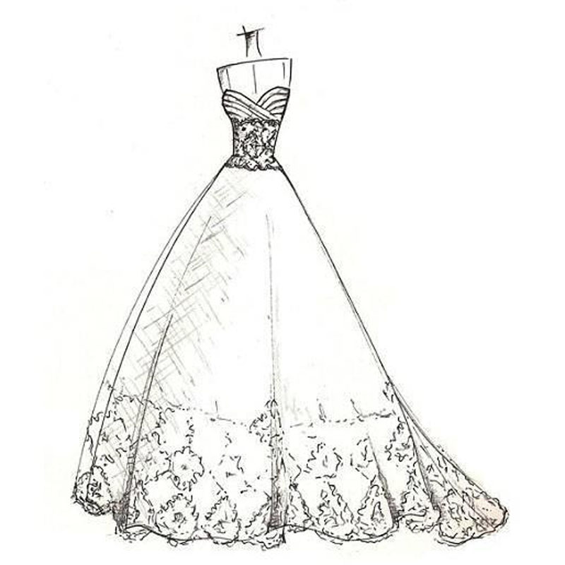Custom Made Dress Link For Custom Made Wedding Dress