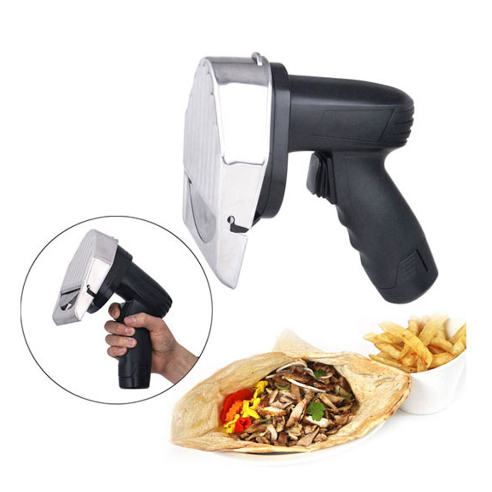 Kitchen Knife Wireless Kebab Slicer with 2 Batteries Meat Shawarma ...