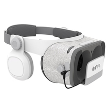 Haweel 3D VR Virtual Reality Glass Headset BT V4.0 3D Video Glasses For Smartphone 4.7~6.2 inch Cardboard Helmet Box