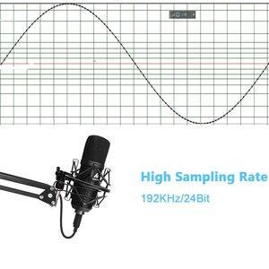 Image 2 - Kit de micro à condensateur USB MAONO Microphone de Studio professionnel Podcast lecture et prise de micro pour PC karaoké enregistrement de jeu YouTube