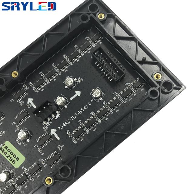 Module dintérieur de écran rgb led de SRY 3mm SMD2121, 192mm x 96mm, pixel 64*32, module mené par p3 de matrice de affichage vidéo led