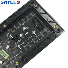 SRY 3 мм Внутренний SMD2121 rgb светодиодный модуль дисплея, 192 мм x 96 мм, 64*32 пикселя, видео светодиодный дисплей, светодиодная матрица, светодиодный модуль p3