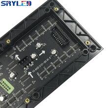 SRY 3 ミリメートル屋内 SMD2121 rgb led ディスプレイモジュール、 192 ミリメートル × 96 ミリメートル、 64*32 ピクセル、ビデオ led ディスプレイ led マトリックス p3 led モジュール