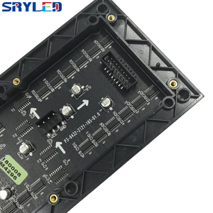 SRY 3mm Indoor SMD2121 rgb led display module,192mm x 96mm, 64*32 pixel, Video led display led matrix p3 led module(China)
