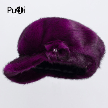 Pudi HF7045 The new women's winter hats style bow - style bow design is simple and easy to choose from many colors