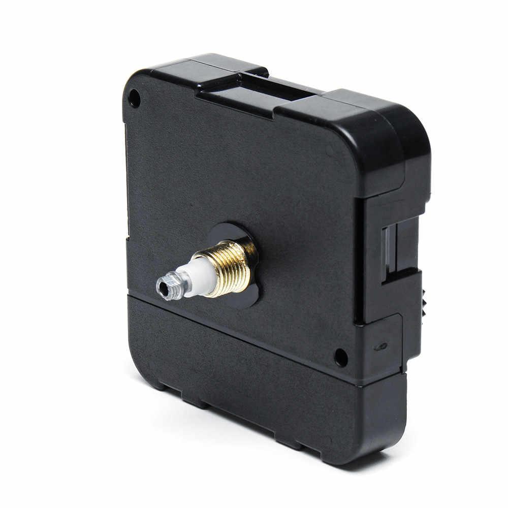 1 Juego de reloj de pared silencioso de alto Torque, reloj de cuarzo controlado, mecanismo de movimiento del Motor, Hora Minuto, manos de repuesto, herramienta esencial