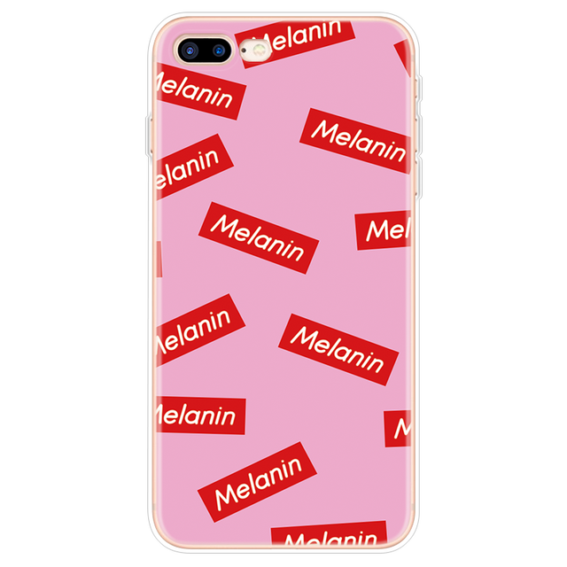 Black Girl Melanin Poppin Aba Case For iPhone 8Plus Case For iPhone 6 6S 5 5S SE 7 8 Plus Cover For iPhone XR 11 Pro XS Max 10 X