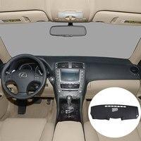 Für Lexus IS250 IS350 2006-2011 Dashboard Abdeckung Leder Dashmat Dashboard Abdeckung Auto Pad Dash Matte Sonnenschirm Teppich Abdeckung