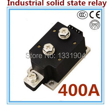 цена на LED indicator DC to AC SSR-H400ZF 400A SSR relay input DC 3-32V output AC1200V industrial solid state relay