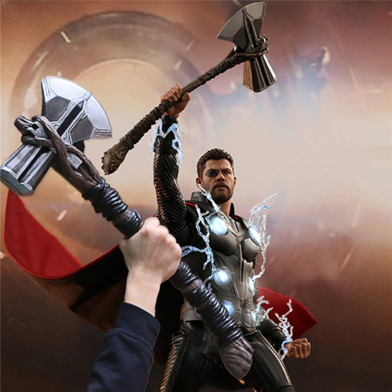1:1 Cosplay 73cm Thor Axe Hammer Movie Thor Stormbreaker