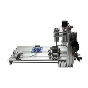 Image 5 - Diy mini stół cnc 4 osi 3060 pcb drewna metalu frezarka z szczęki imadła zaciski i frezy maszyny