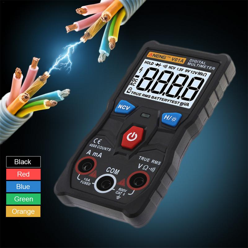 ANENG V01A Full Smart Digital Multimeter Voltmeter Measurement Inspection Business & Industrial Tester Meter Test Equipment цены