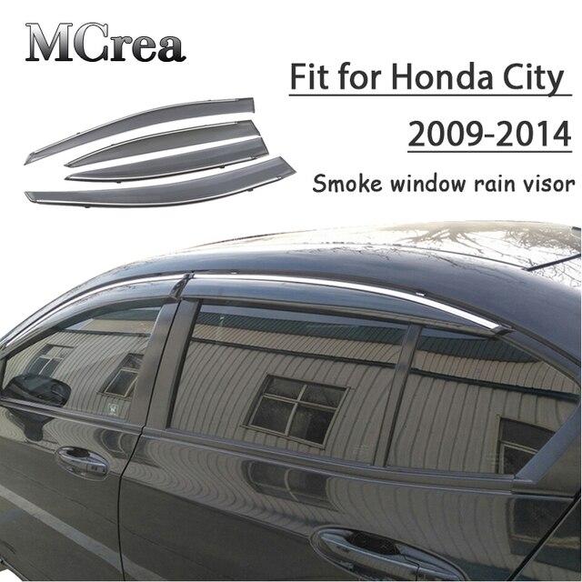 Pare soleil et déflecteur pour Honda City