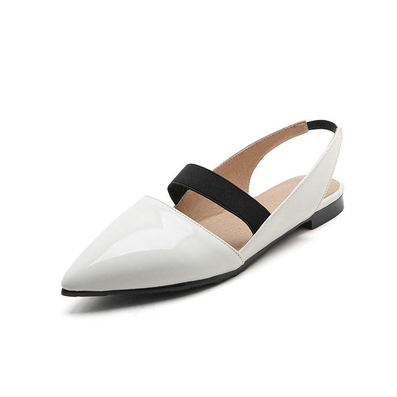 Spring/Autumn Women Shoes Women's Flats Pointed Toe Casual Leisure Fashion Solid Shallow Lace-up new hot spring summer high quality fashion trend simple classic solid pleated flats casual pointed toe women office boat shoes