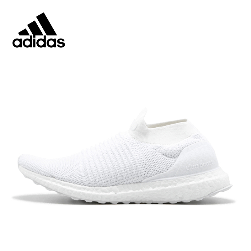 Sport Original New Arrival Official Adidas Ultra BOOST Laceless 4.0 Men's Running Shoes Sports Sneakers Breathable white adidas new arrival authentic ultra boost uncaged haven breathable men s running shoes sports sneakers by2638