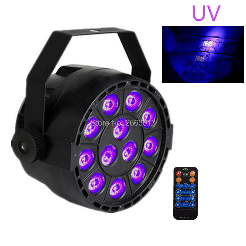 36W UV Led Stage light Ultraviolet With Reomte control Led par Light for Stage Party nightclub Disco light UV purple LED lamp 36w uv led stage light black light par light ultraviolet led spotligh lamp with dmx512 for disco dj club show party decoration