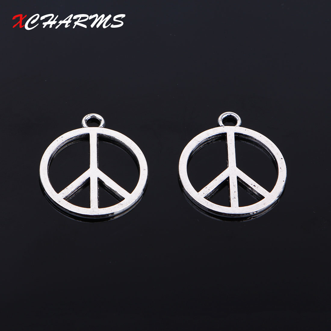 Buy peace sign charms and get free shipping on aliexpress buycottarizona Gallery