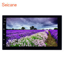 "Seicane Android 8.1 7"" 2DIN Universal Touchscreen Bluetooth Radio GPS Navigation for Nissan Hyundai Kia Toyota Honda Suzuki VW(China)"