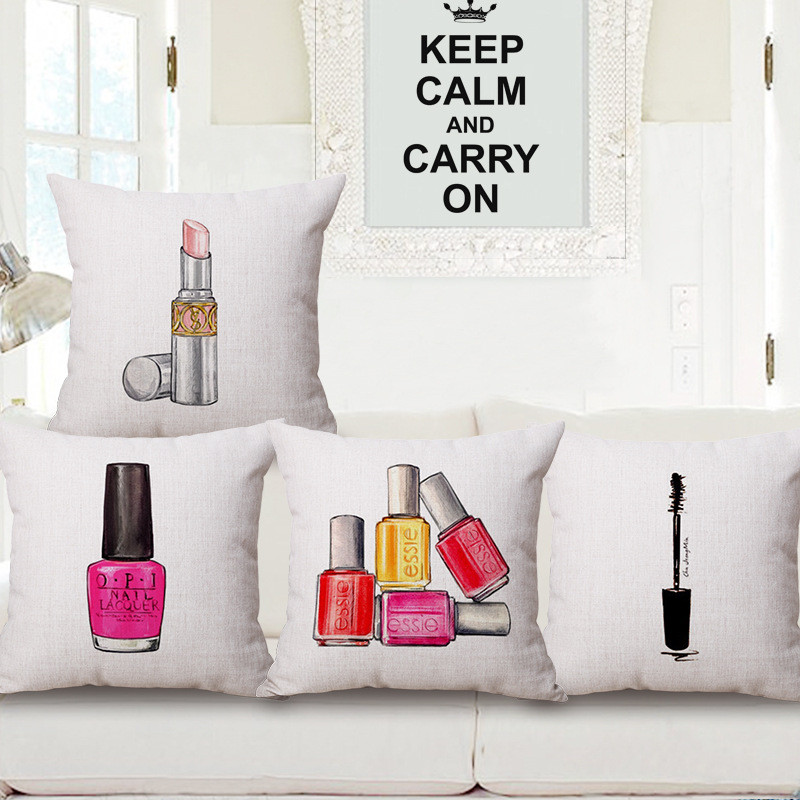 Nordic Nail Polish Perfume Bottles And Lipstick Car Home