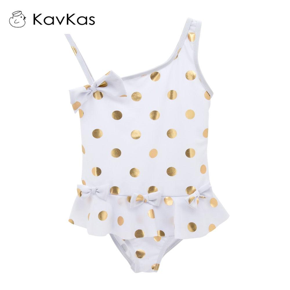 Toddler Girl Swimwear Cute Dot Pattern Children Bathing Swimming Surfing Tankini Kids Swimsuit Polkas Baby Girl Beach Wear Купальник