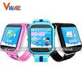 Vwar gw200s q100 niños gps smart watch con wifi toque Dispositivo de Localización de Llamadas pantalla SOS Perseguidor de Seguro Bebé Anti Lost-Monitor