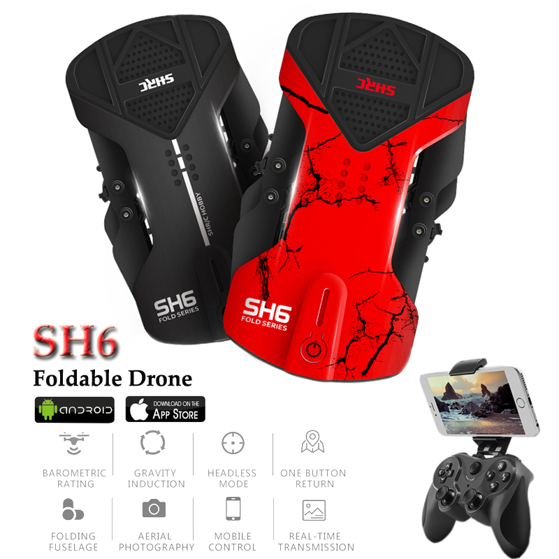 SH6 Dron Quadrocopter Selfie Drones With Camera HD 720P FPV Quadcopters with Camera Altitude Hold Remote Control RC Helicopters
