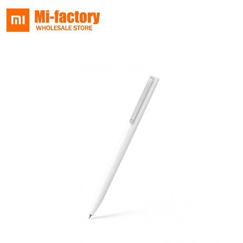 Original Xiaomi Mijia Sign Pen Penanda 9.5mm Penanda PREMEC Smooth Switzerland Refill MiKuni Japan Ink add Mijia Pens Black Refill