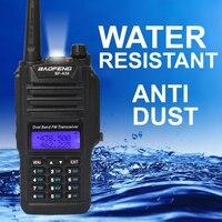 Baofeng BF A58 Walkie Talkie IP67 Waterproof Telsiz 10km Two Way Radio Comunicador Baofeng UV 9R Plus Dual Band Amateur Radio