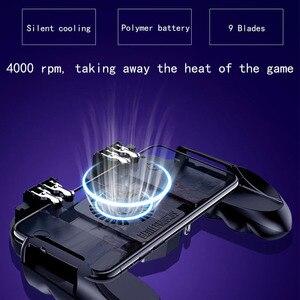 Image 3 - Mando PUBG con ventilador para móvil, botón de disparo para iphone e ios