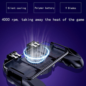 Image 3 - PUBG controller mit fan spiel controler pubg handy spiel trigger feuer taste für iphone ios game controller joystick gamepad