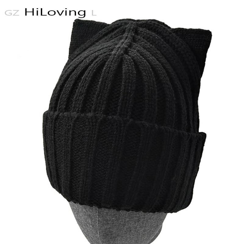 2016 amerikanische Modemarke Wolle Häkeln Beanie Strickmütze Hut - Bekleidungszubehör - Foto 1