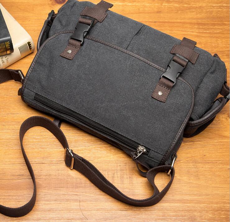 yesetn bag 010517 man canvas shoulder bag male casual messenger bag 5