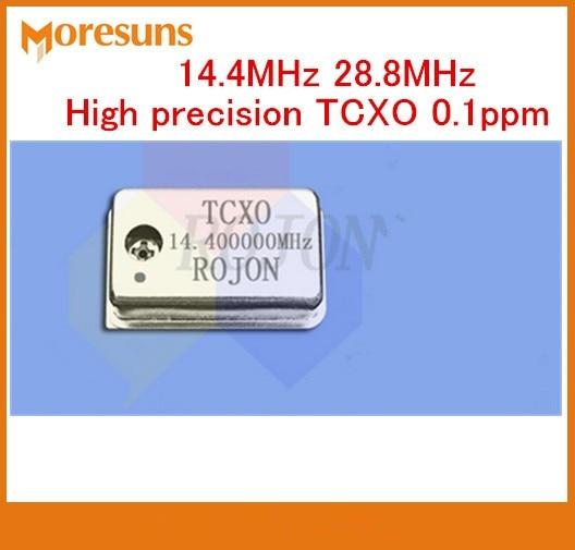 vcxo 28.8 mhz - Free Ship 5pcs/lot High precision crystal oscillator 14.4MHz 28.8MHz TCXO 0.1ppm