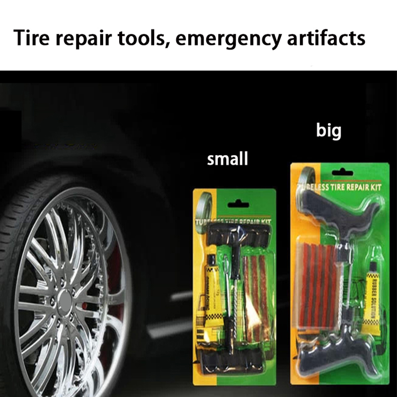 Atreus Portable Car Tubeless Tire Tyre Puncture Plug Repair Tools Kits Car Auto Accessories Motorcycle Sticker Car-styling cover
