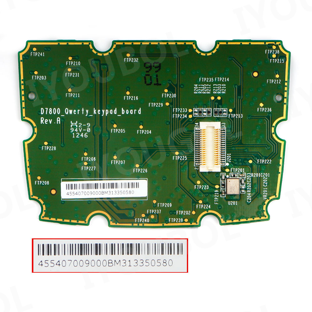 Keypad PCB (QWERTY) Replacement for Honeywell Dolphin 7800