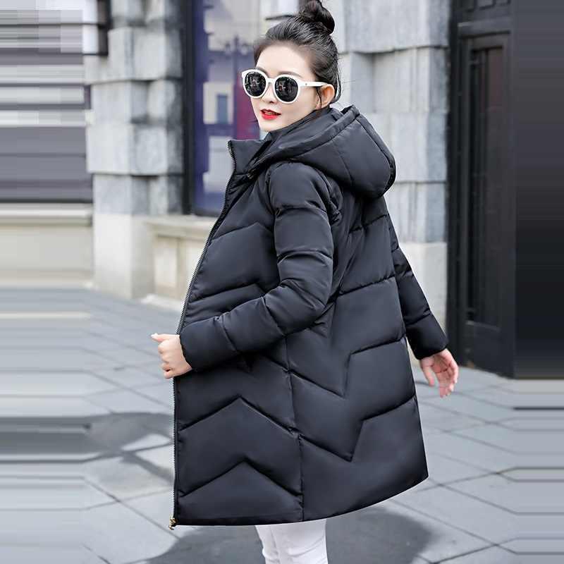 Зимняя куртка женская плюс размер 2019 Новая Украина 6XL женское s пуховое хлопковое пальто Толстое Зимнее пальто с капюшоном куртки женские длинные парки